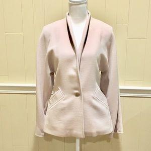 MaxMara Sz 8 One-button Wool jacket/blazer